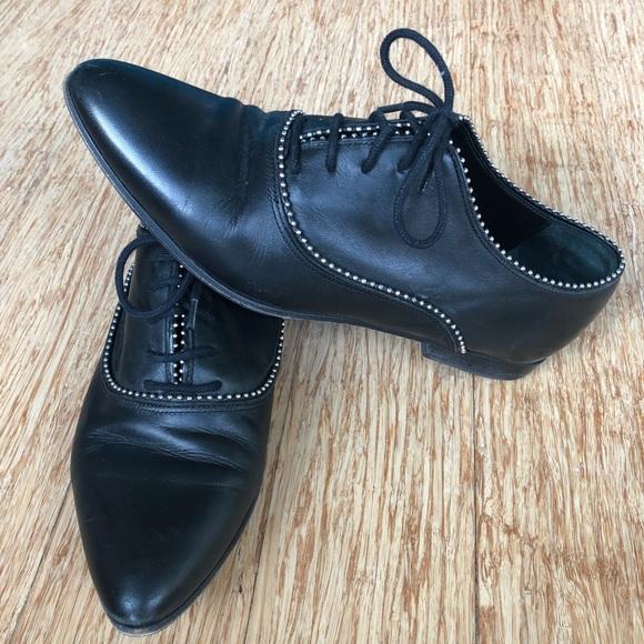 3f6c6c620da All Saints Shoes - All Saints Keiko Studded Oxford
